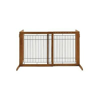 Richell 94146 Wood Freestanding Gate Autumn Matte Finish High-Small small New