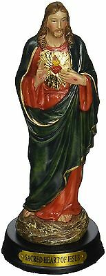 5-Inch Sacred Heart of Jesus Holy Religious Figurine Decoration Statue New