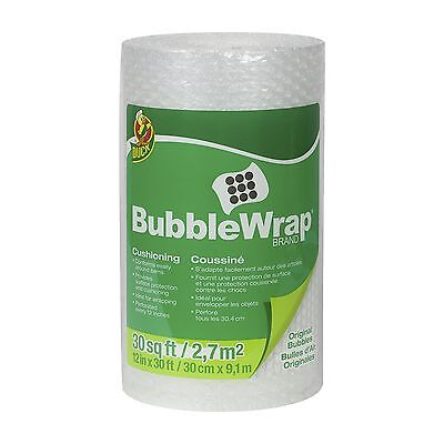 Duck Brand Bubble Wrap Original Protective Packaging 12 Inches Wide x 30 ... New