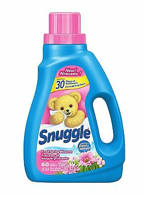 Snuggle Fresh Spring Blossom 60 Wash Loads 51.2-Ounce New