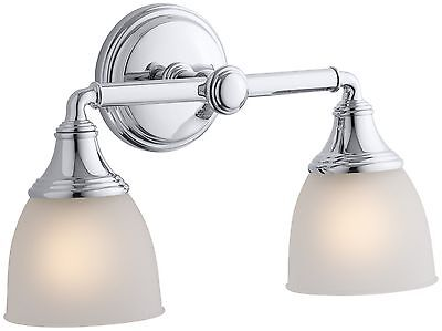 KOHLER K-10571-CP Devonshire Double Wall Sconce Polished Chrome New