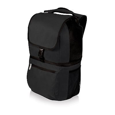 Picnic Time Zuma Insulated Cooler Backpack Black New