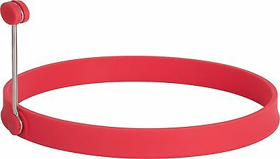 Trudeau 09911046 Silicone 6-Inch Pancake Ring (Red) New