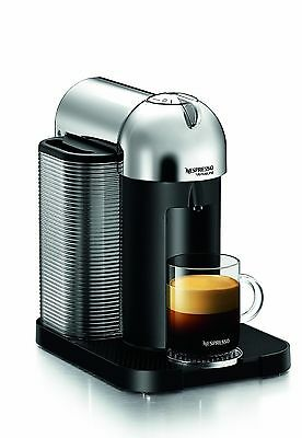 Nespresso GCA1-US-CH-NE VertuoLine Chrome New