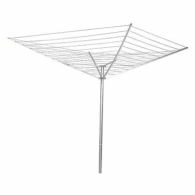 Household Essentials 12-Line Outdoor Umbrella-Style Clothes Dryer 1 New