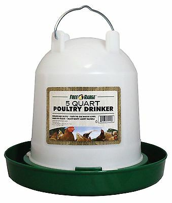Harris Farms 4220 Plastic Poultry Water Fountain 1-Gallon New