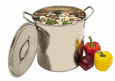 Heuck H36010 Stainless Steel Stockpot 20-Quart New