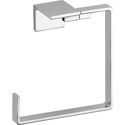 Delta Faucet 77746 Vero Towel Ring Chrome New