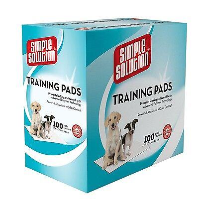 Simple Solution Puppy Training Pads 100 CT New
