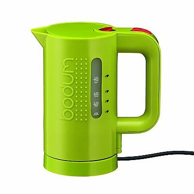Bodum 11451-565US 17-Ounce Electric Water Kettle Green New