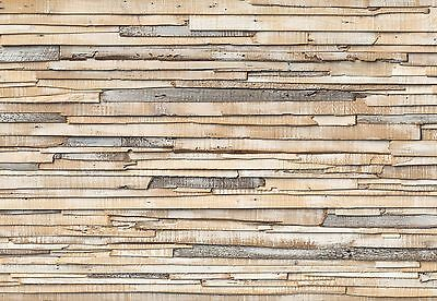 Brewster Wall Covering Whitewashed Wood Wallpaper Mural New
