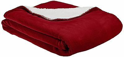 American Kennel Club Pet Throw Red New