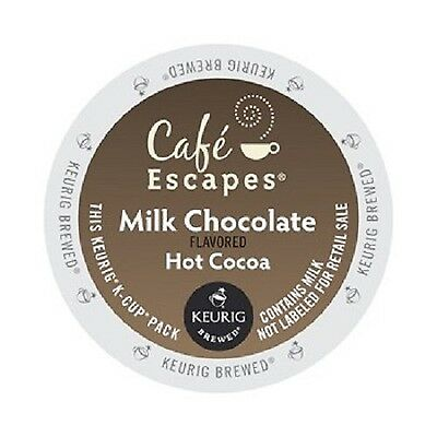 Caf Escapes Milk Chocolate Hot Cocoa 24 Count 24-Count New