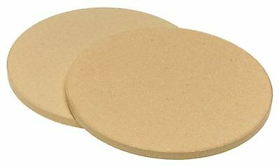 Old Stone Oven 4444 Pizza for Two 8-1/2-Inch Round Pizza Stones New