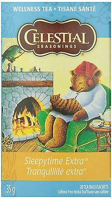 Celestial Seasonings Sleepytime Extra New