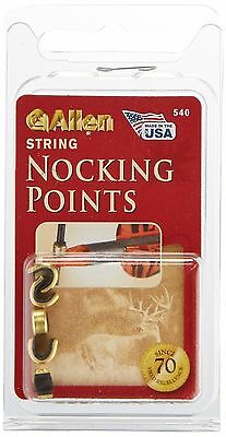 Allen Company Crimp On Archery String Nocking Points Large 5-pack New