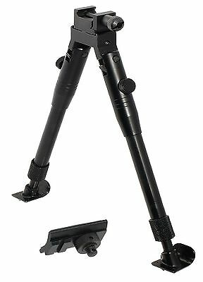 UTG TACTICAL/Sniper Profile Adjustable Height Universal Bipod with Steel ... New