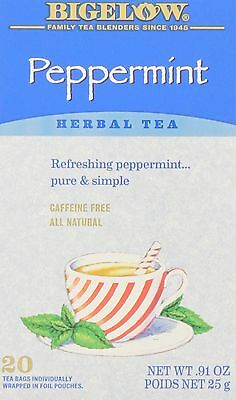 Bigelow Tea Peppermint (Pack of 6) New