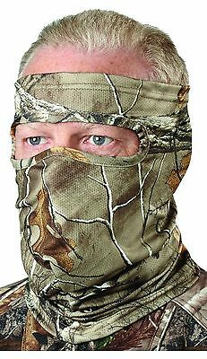 Scent-A-Way Silver Realtree Xtra Heavyweight Spandex 3/4 Face Mask by Hun... New