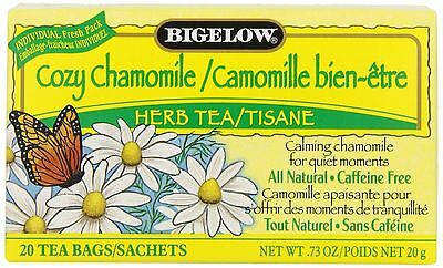 Bigelow Tea Cozy Chamomile (Pack of 6) New