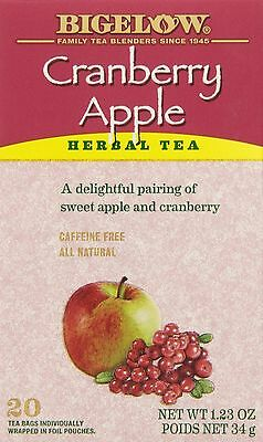 Bigelow Tea Cranberry Apple (Pack of 6) New