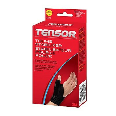 Tensor Thumb Stabilizer Small/Medium 1 Count S/M New