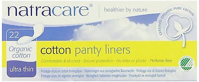 Natracare Ultra Thin Panty Liner 22 Count New