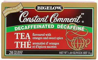 Bigelow Tea Constant Comment Decaf (Pack of 6) New