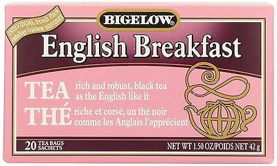 Bigelow Tea English Breakfast (Pack of 6) New