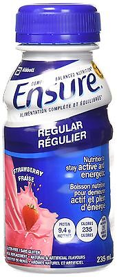 Ensure Regular Strawberry 235mL Bottle 6-Pack New