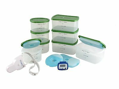 Fit & Healthy 106kit2 Kit with Body Tape Measure and Pedometer New