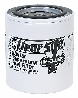 Moeller Clear Site Water Separating Fuel Filter System Replacement Filter New