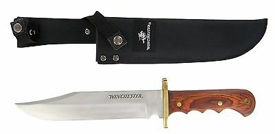 Winchester 22-41206 Large Bowie Knife with Sheath New