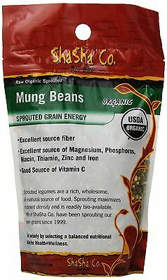 Shasha Co Organic Sprouted Mung Beans-Bio Buds New