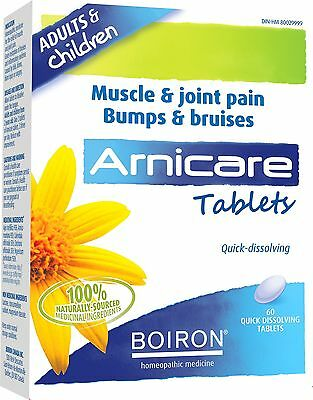 Boiron Arnicare Tablets 60 Count New