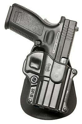 Fobus Standard Holster Left Hand Paddle SP11LH Springfield Armory XD/XDM/... New