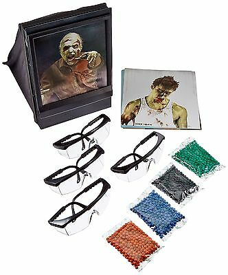 Crosman Undead Apocalypse Airsoft Fun Kit with Zombie Targets New