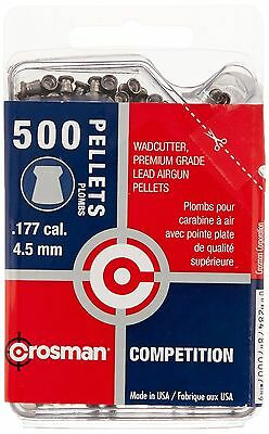 Crosman 500-Count Competition .177-Caliber Wadcutter Pellets New