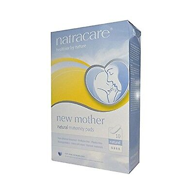 Natracare Maternity Pads 10 Count New
