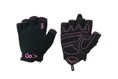 GoFit GF-WCT-LG Women's Cross Training Glove With Etched Synthetic Leathe... New