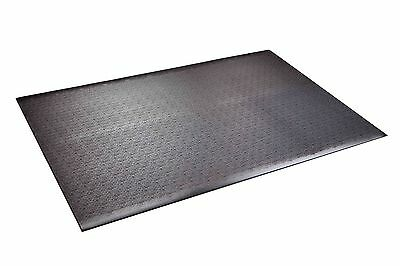 Supermats 24GS Solid Heavy Duty P.V.C. Mat for Home Gyms Weightlifting Eq... New