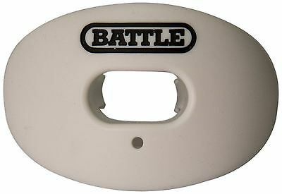Battle Sports Science Oxygen Lip Protector Mouth Guard White New