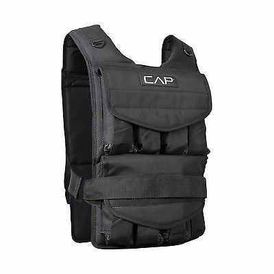 Cap Barbell Adjustable Weighted Vest 50-Pound New