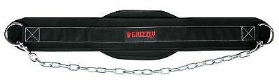 Grizzly Fitness 8553-04 Nylon Dipping Belt New