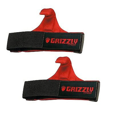 Grizzly Fitness 8643-04 Power Claw Lifting Hooks New