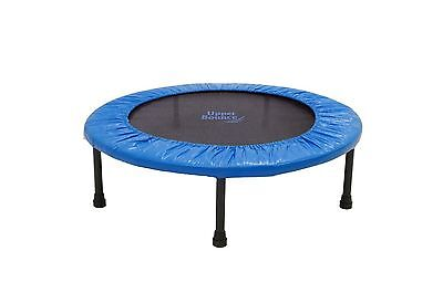 Upper Bounce 36-Inch Two-Way Foldable Rebounder Trampoline with Carry-on ... New