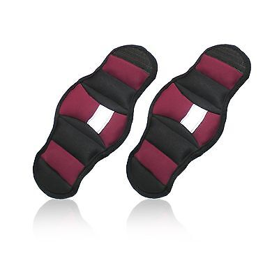 Cap Fitness HHH-CF002W Pair of 2-Pound Wrist Weights Magenta New