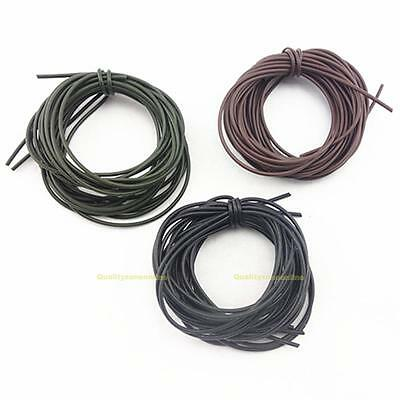 3Pcs/Lot 1M Carp Fishing Silicone Rigs Soft Tube Sleeve Fishing Lines Tackles