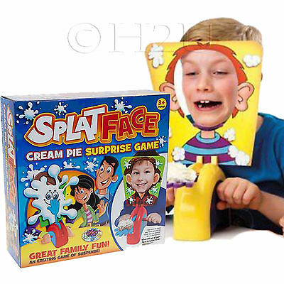 Splat Game Pie Face Fun Toy Christmas Games Board Inspired Family Drinking