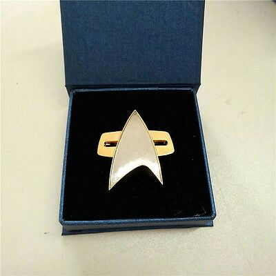 Star Trek Badge Voyager Communicator Starfleet Badge Fait À La Main Broche